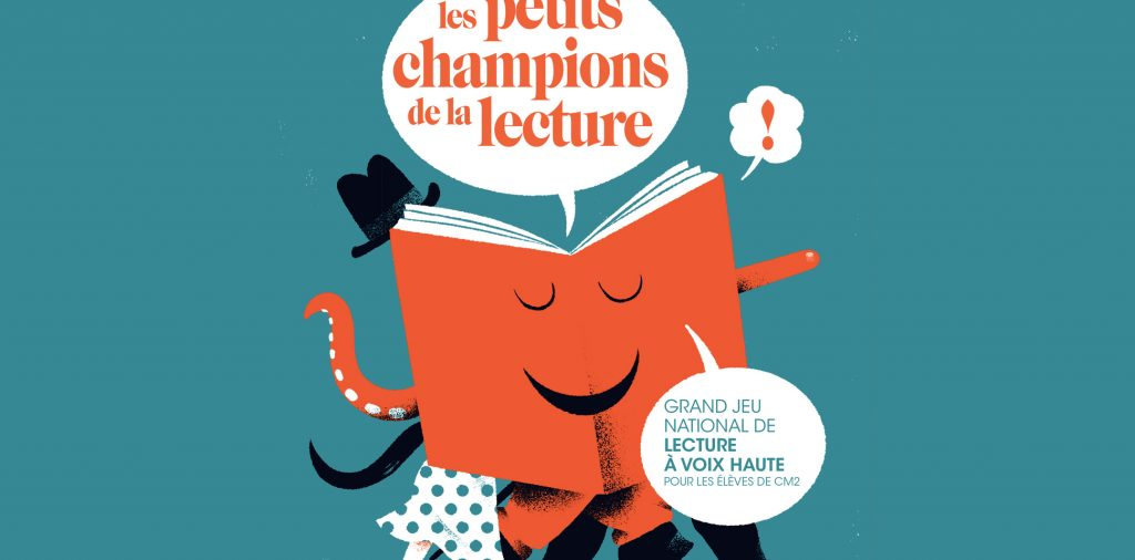 Affiche Les petits champions de la lecture 2019