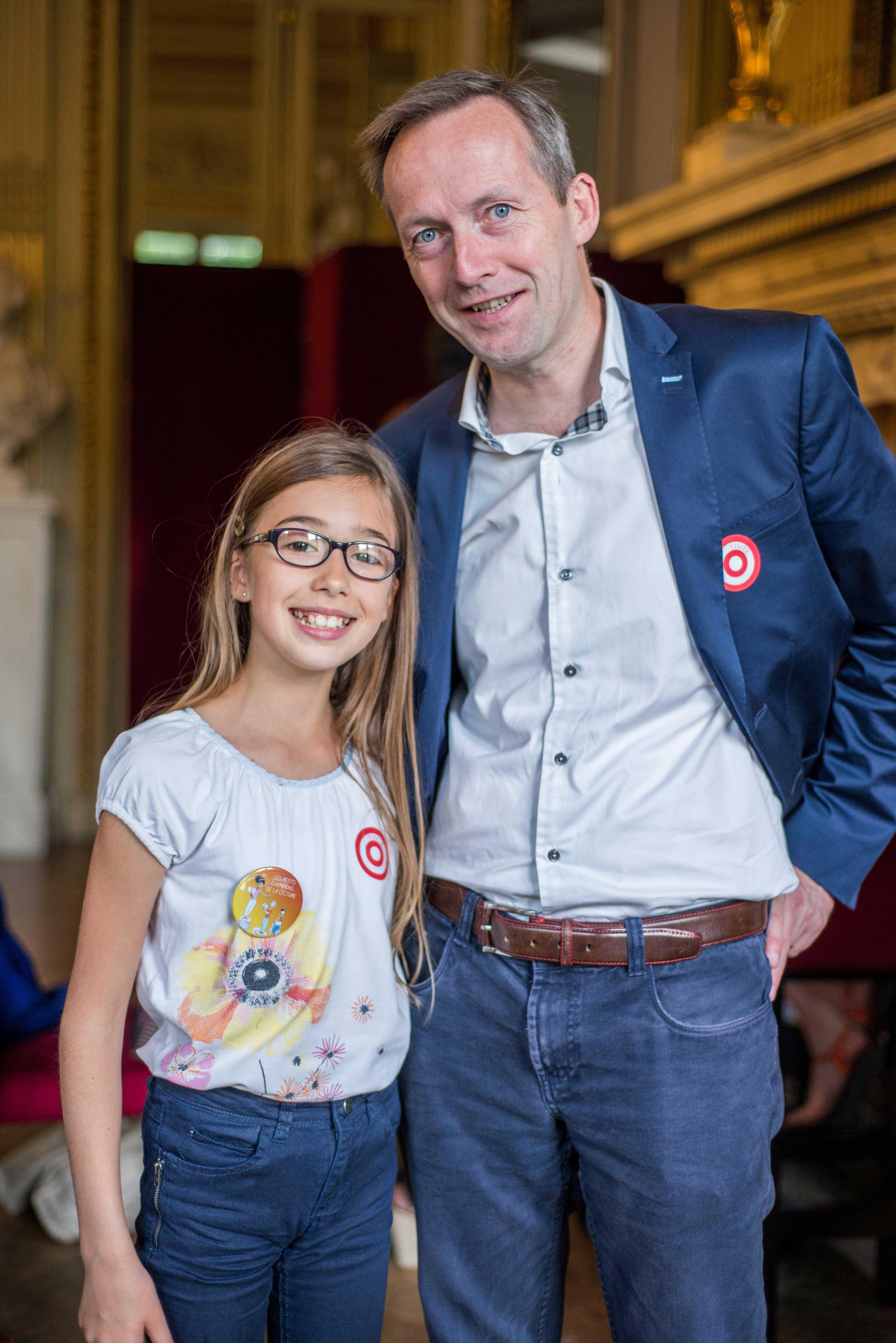 Photo Clothilde Beaupare - enfant auteur
