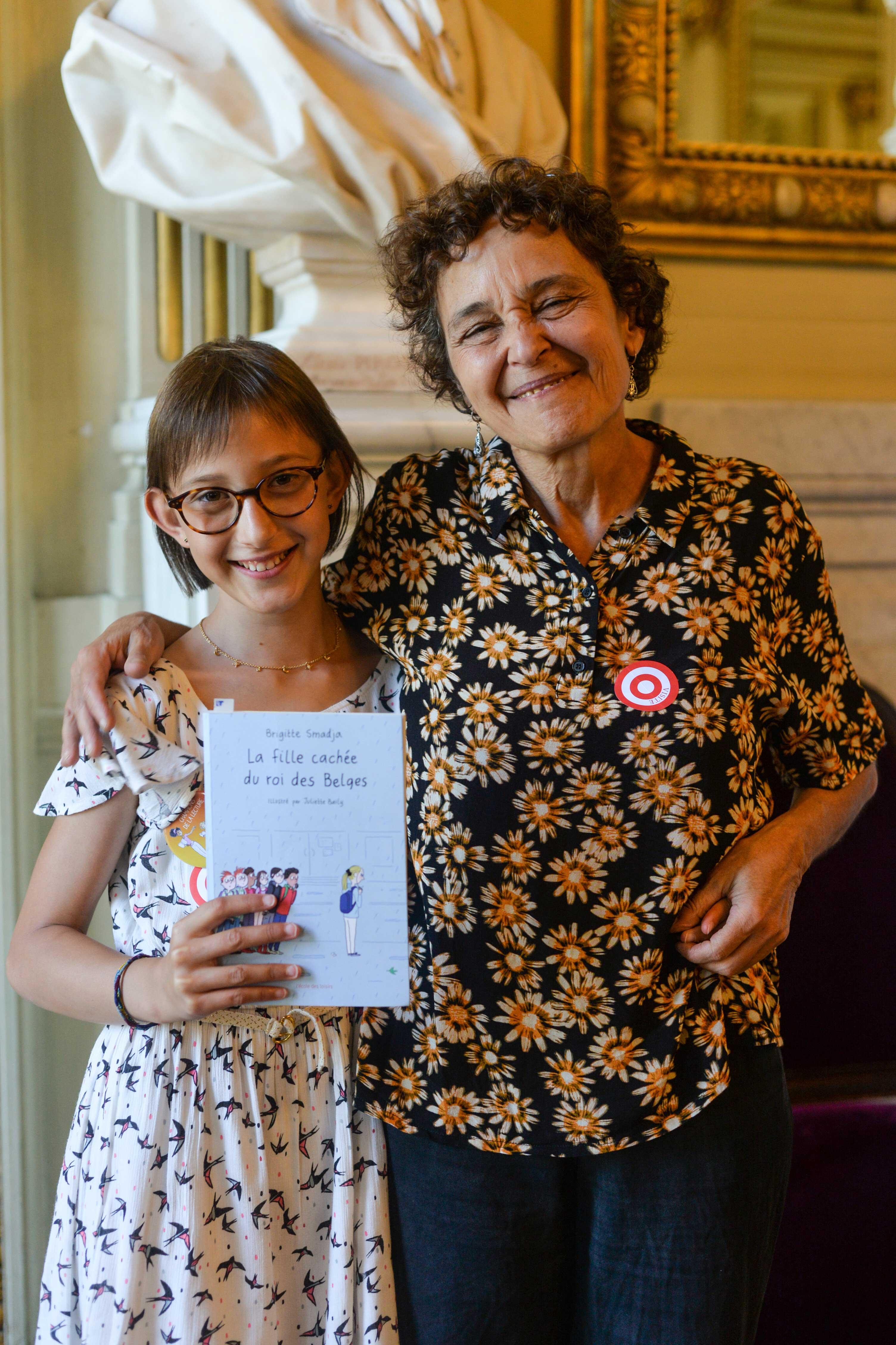 Photo d'Éloise et Brigitte Smadja 2018