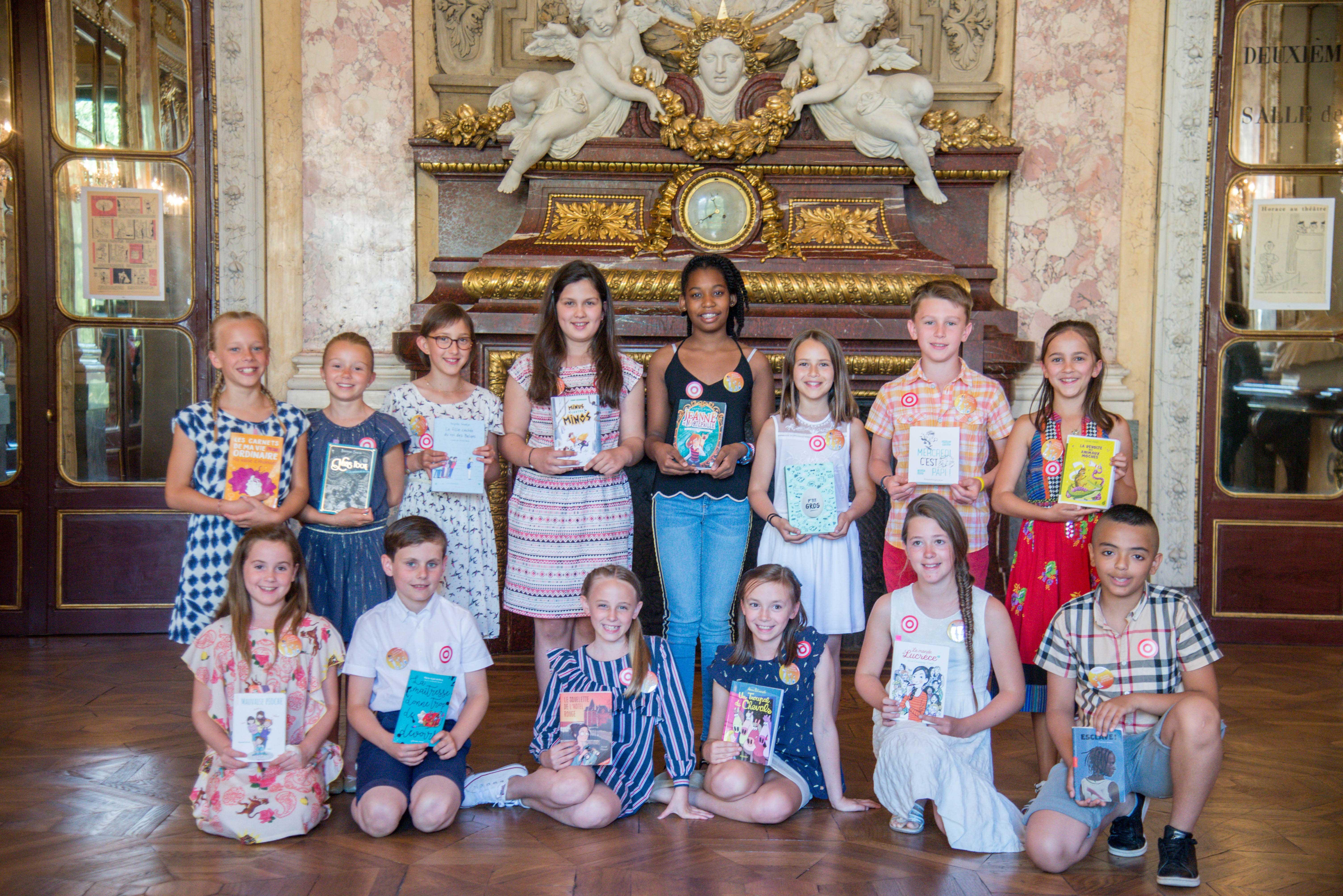 Photo de groupe des enfants en finale 2018
