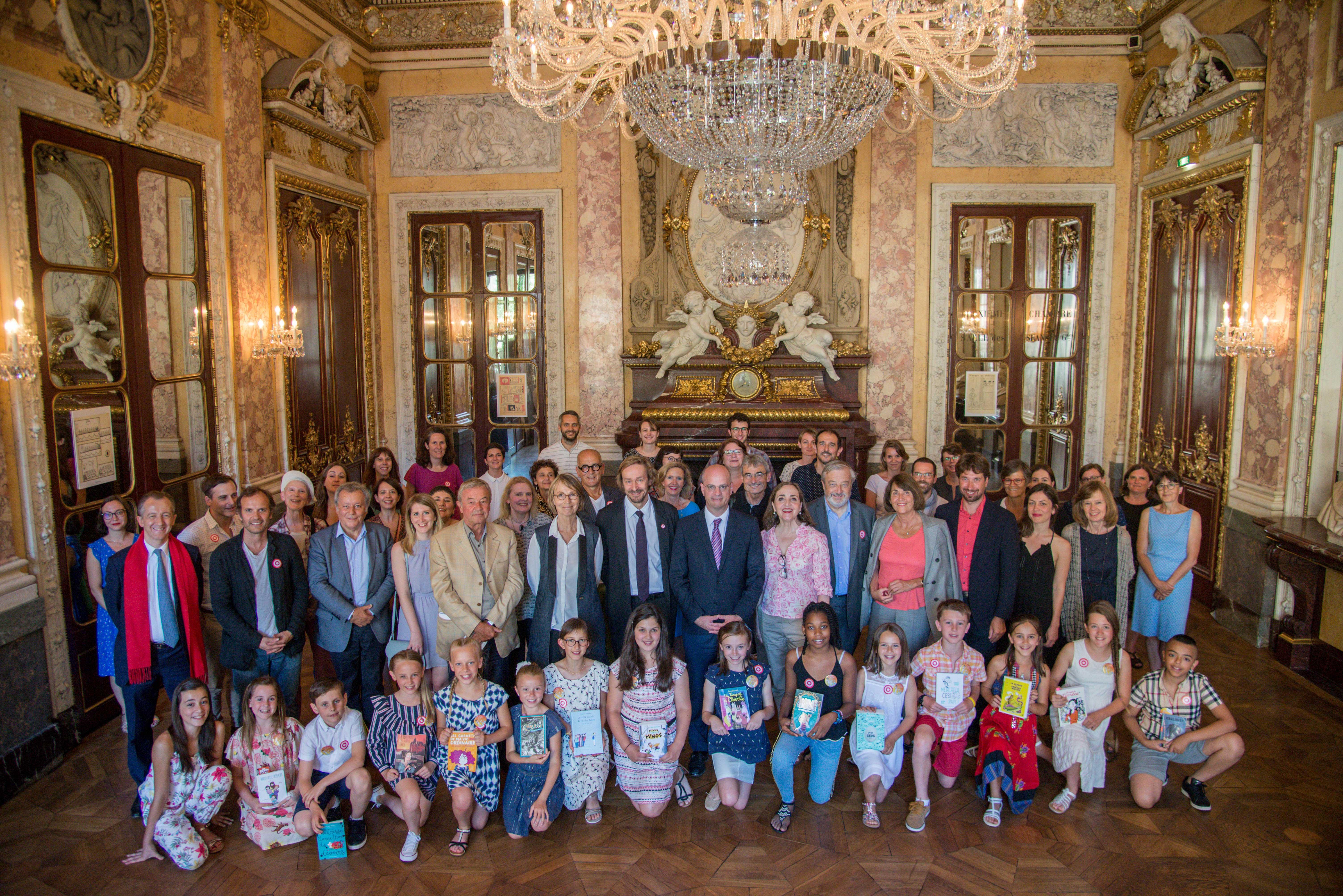 Photo de groupe des enfants 2018