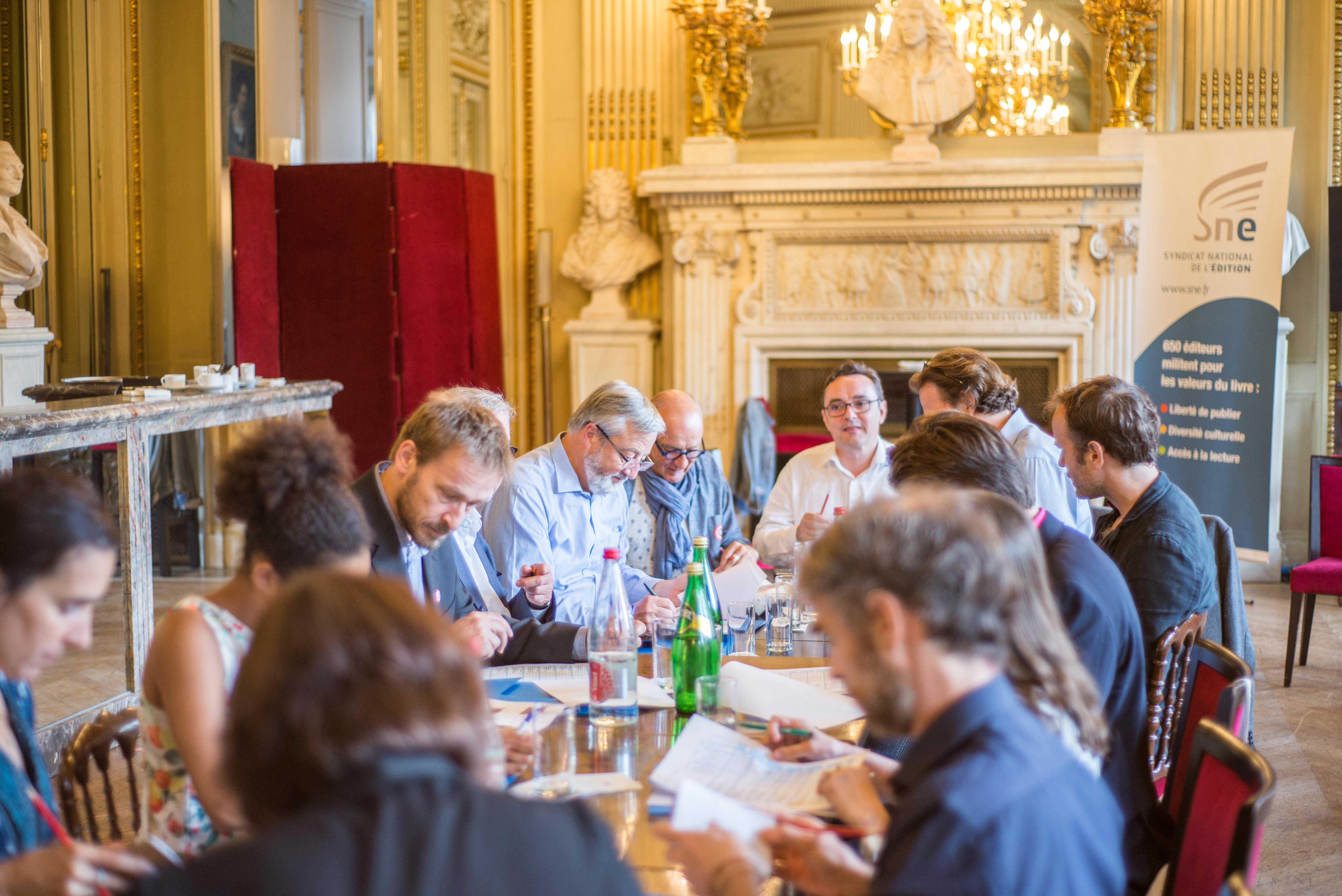 Photo du jury en deliberation 2017