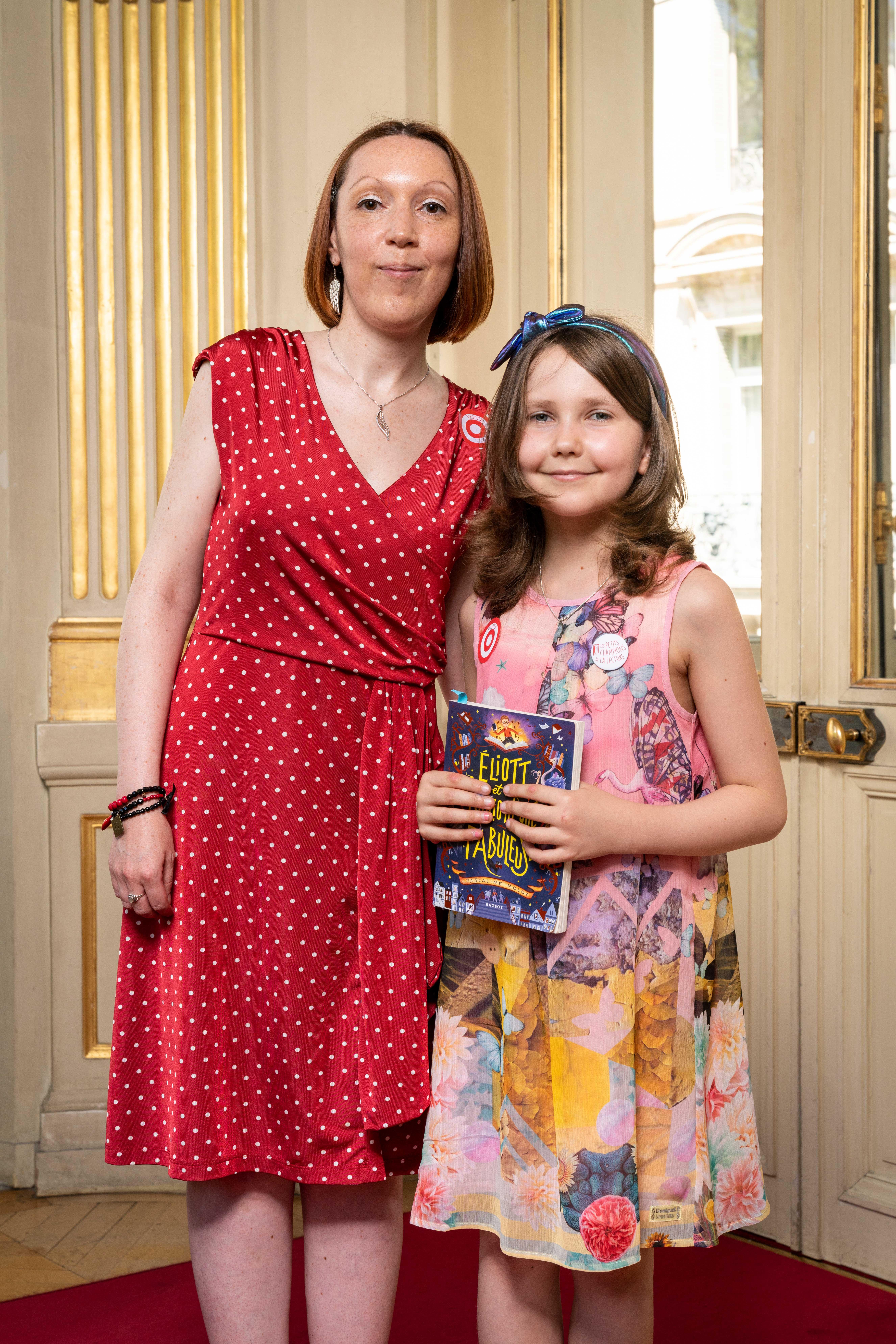 Photo de Leila et Pascaline Nolot 2019