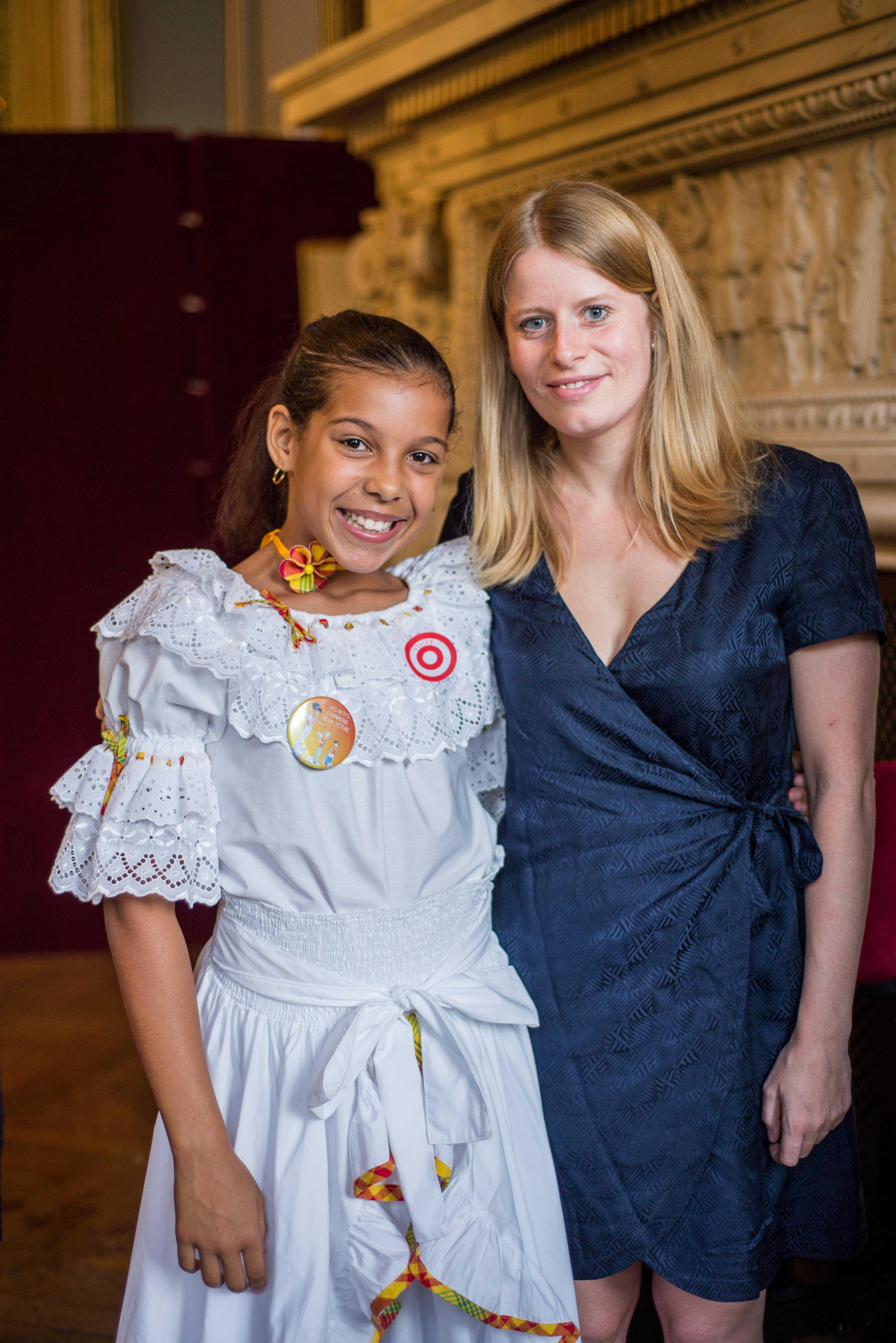 Photo de Mélina Brissot - enfant auteur